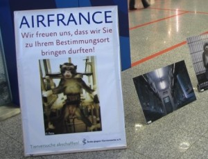 Air Fance _ Aerzte gegen Tierversuche